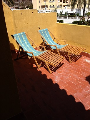 Top up your tan on the Top Terrace